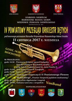 Zaproszenie na IV Powiatowy Przegląd Orkiestr Dętych