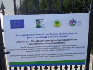 Zrealizowany projekt – F.H.U.P INEZ Dariusz Kaczmarczyk